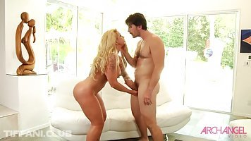 Big tited milf, Ryan Conner got a huge meat stick in her very big ass, from behind